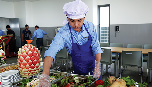 catering and house keeping services